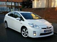PCO toyota prius T4 63000 genuine low miles UK model HPI clear pear white uber ready