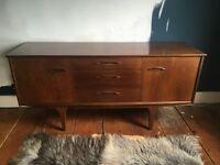 Vintage Jentique teak 1960s sideboard