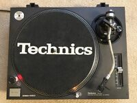 Technics 1210 Turntables - Pair - Good Condition, Original Cartridges and Lids.