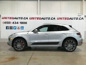 2015 Porsche Macan TURBO NAV CHRONO PKG 21INCH CARBON KIT