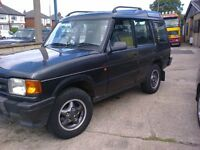LAND ROVER DISCOVERY TDI AUTOMATIC 7 SEATS. R REG. 2 OWNERS