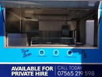 Catering trailer 10ft x 7ft