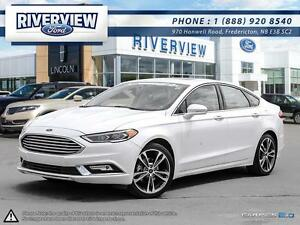 2017 Ford Fusion Titanium1.9%  Financing!!! Free Extended Warran