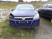 2006 Vauxhall Astra CDTI 1700 Diesel For Breaking Blue