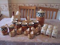 Leonardo home ware farmyard collection