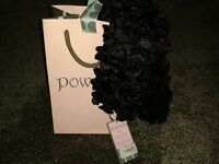 Powder Daisy Scarf with tag and gift bag