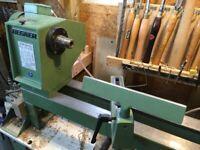 Wood turning lathe Hegner HDB 200XL electronic variable speed