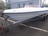 17ft boat good hull first £ 80
