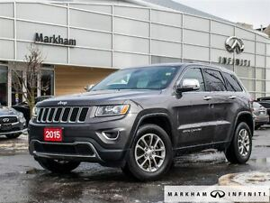 2015 Jeep Grand Cherokee Limited...HUGE SAVING COMPARE TO NEW !