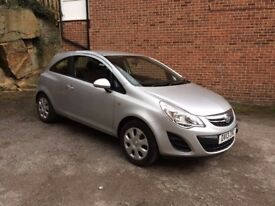 2013 Vauxhall Corsa 1.2 i 16v Exclusiv Silver 3dr a/c Full History
