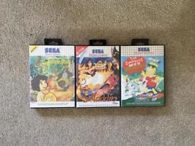 Retro Sega Master System Games
