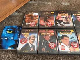 Jame Bond DVD collection