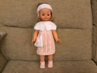 New hand knitted doll's clothes