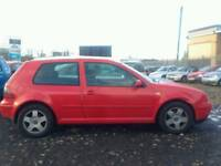 2000 VOLKSWAGEN GOLF GTI 2.0 PETROL , , 1 YEAR M.O.T , , VERY FAST AND CHEAP CAR