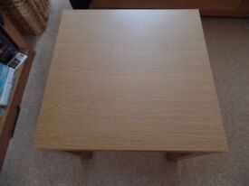 Small Oak Effect Coffee Table