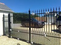 Wenvoe fabrications.gates electric or manuall,railings,security bars,steel doors,onsite welding.