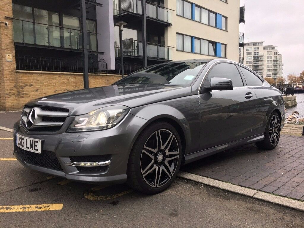 2013 mercedes benz c class coupe 220 cdi fully loaded selenite grey in poplar london gumtree. Black Bedroom Furniture Sets. Home Design Ideas