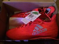New Adidas Indoor Football Boots Size 10