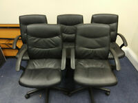 5 Large Office Chairs