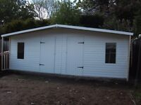 20x10 summerhouse.bedroom shed/home office