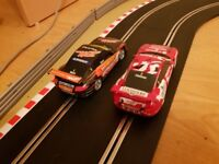 2 digital ready scalextric porsches