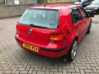 VW Golf 1.6 SR Great condition ( full service history)