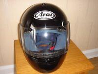 Arai Quantum e motorcycle / motorbike helmet size XS - excellent condition!