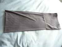 UNISEX GREY SNOOD SCARF WITH FLEECE SECTION