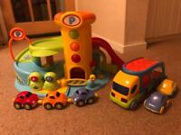 ELC Whizz Around Garage & Transporter Lorry