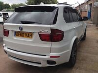 INCREDIBLY RARE WHITE BMW X5 M SPORT fully loaded