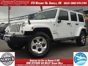 2013 Jeep Wrangler Unlimited Sahara | 4X4 | DUAL TOP | HEATED LE