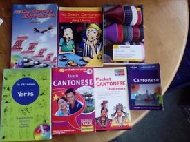 Books to learn Chinese (Cantonese) & Eurotalk 'Learn Cantonese'