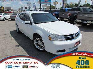 2013 Dodge Avenger SXT | SAT RADIO | CLEAN | ALLOYS