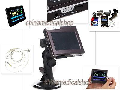 Neonatal Infant Pediatric Kids Pulse Oximeter Spo2 Patient Monitor Touch Screen