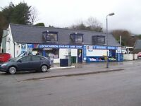 Shop Staff Required in Lochcarron Highlands of Scotland 60 miles from Inverness