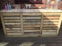 New Wooden Garden Bar