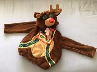 Rudolph Christmas Children's fancy dress top - 5-6 years old