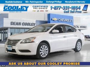 2014 Nissan Sentra S/BLUETOOTH/CLOTH/SPORT MODE/TRACTION CONTROL