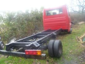 mercedes 410 d chassis cab .