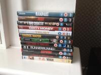 DVDS X 12 MAINLY COP / THRILLERS