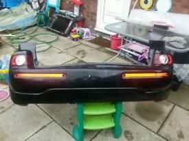 c3 picasso exclusive hdi 60reg rear bumper