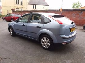 ford forcus 06 plate 18 tdci 2 owners short test £500