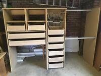 Storage Unit / Wardrobe - 238 x 169 x 61cms