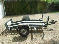 Trailer for up to 3 Mororcycles or Quad Bike etc.