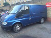 Ford transit 2002 light blue