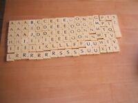 scrabble letters full set round backs