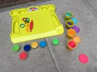 Play-Doh-Play Shaping Board, Utensils & Doh Pots