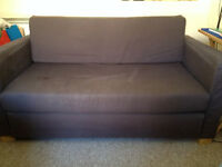 BLUE IKEA USED SOFA
