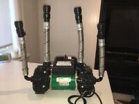 Salamander Pump ESP75CPV with tails
