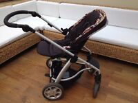 Mamas & Papas Sola Travel System with Cybex Aton Car Seat & Accessories